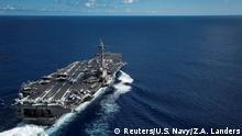 US Flugzeugträger USS Carl Vinson