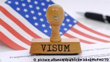 Symbolbild zu strengen Einreisekontrollen in die USA