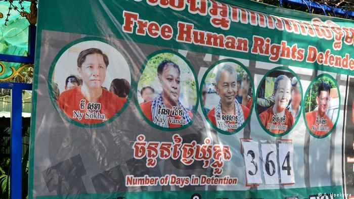 Kambodscha FreeThe5KH campaign