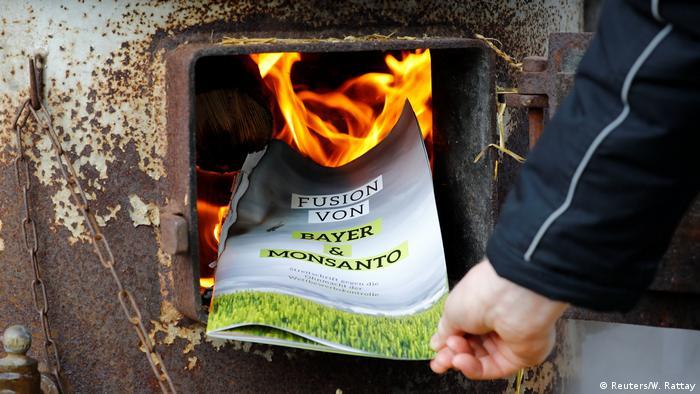 Bonn Anti Bayer Monsanto Protest