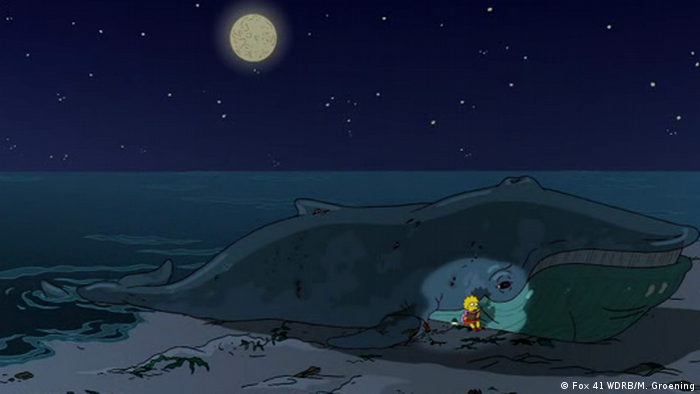 Screenshot The Simpsons The Squirt And The Whale (Fox 41 WDRB/M. Groening)