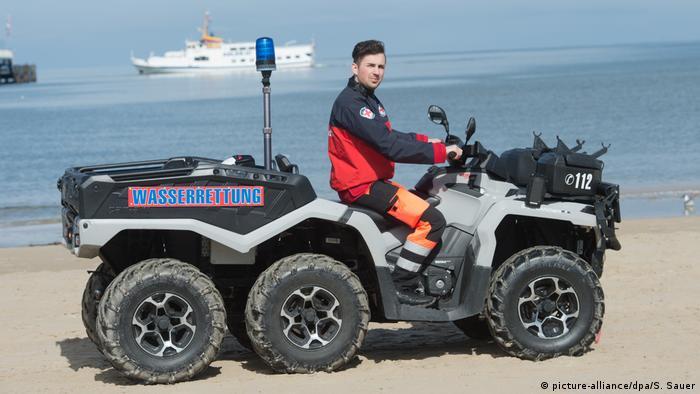 Пляжный патруль по-немецки