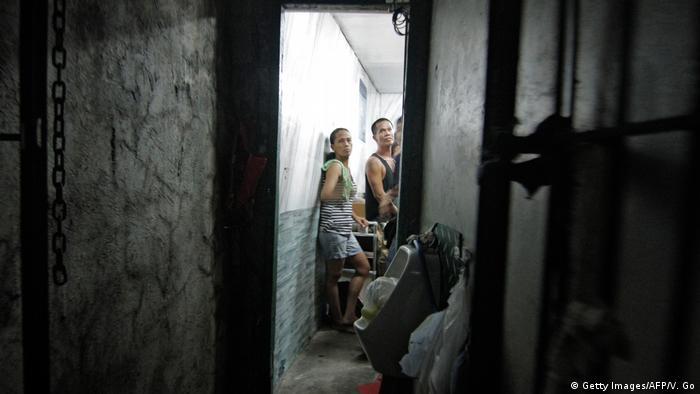 Philippinen Manila Polizei Geheime Gefängniszelle (Getty Images/AFP/V. Go)
