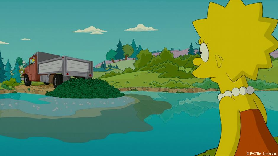 Celebrating 30 Years Of Lisa Simpson S Environmental Activism Environment All Topics From Climate Change To Conservation Dw 28 04 2017