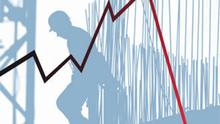 Symbolbild Rezession Finanzkrise Weltwirtschaft Bauindustrie Depression