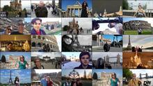DW Collage Euromaxx Zuschaueraktion Wahrzeichen privat / DW -> Rechte gem. Teilnahmebedingungen an DW übertragen