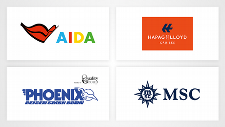 Partner, AIDA, Hapag LLoyd, Phoenix, MSC