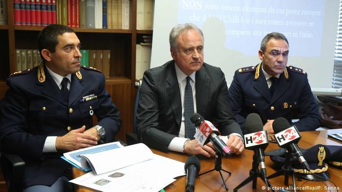 Italien Lecce PK zu Terrorgruppe mit Nkanga Lutumba
