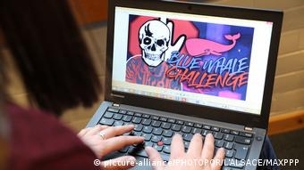Blue whale challenge (picture-alliance/PHOTOPQR/L'ALSACE/MAXPPP)