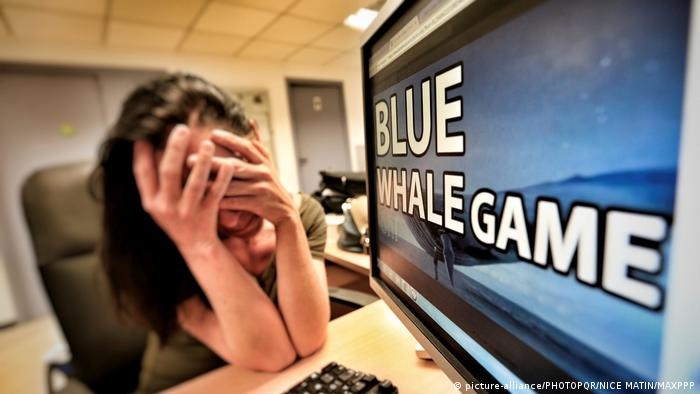 Blue Whale Challenge (picture-alliance/PHOTOPQR/NICE MATIN/MAXPPP)