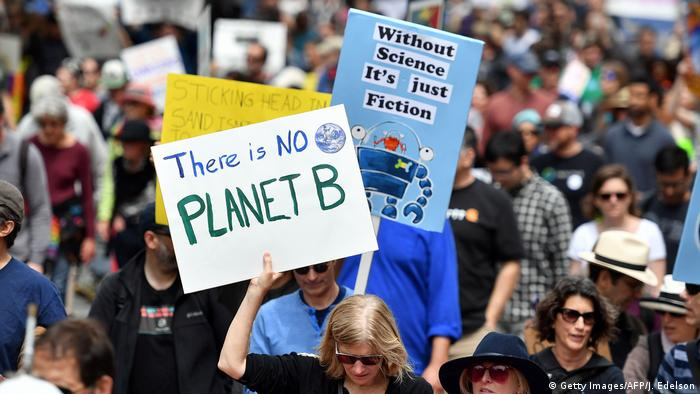 USA March of Science in San Francisco | Klima (Getty Images/AFP/J. Edelson)