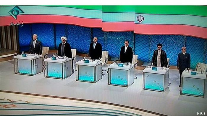 Iran Präsidentschaftswahlen TV-Duell (IRIB)