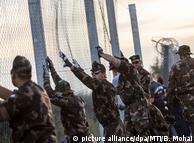 Заграждения на границе Венгрии и Сербии