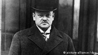 Deutschland Reichkanzler Gustav Stresemann