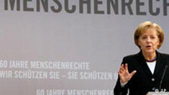 BdT Menschenrechte Merkel Amnesty International