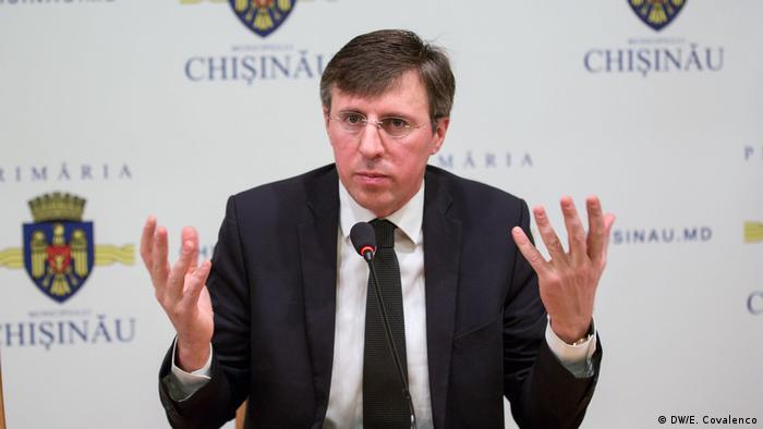 Dorin Chirtoacă, primarul Chișinăului