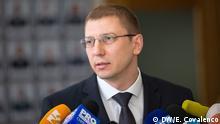 Republik Moldau - Viorel Morari, Leiter der Antikorruptions-Staatsanwaltschaft Autorin: Elena Covalenco (tritt die Rechte an DW ab)