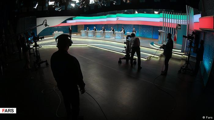 Iran Debatte der Präsidentschaftskandidaten (Fars)