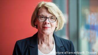 Regula Venske, new PEN president (Photo: picture-alliance/dpa/B. Thissen)