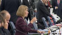 La alta representante de la UE para la Política Exterior, Federica Mogherini