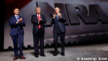 USA Präsident Donald Trump bei der NRA - National Rifle Association (Reuters/J. Ernst)