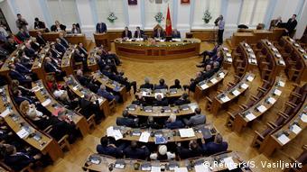 Черногорские парламентарии обсуждают вопрос о вступлении страны в НАТО