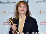 Марен Аде на вручении немецкой кинопремии, 28 апреля 2017