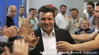 Mazedonien Skopje Zoran Zaev