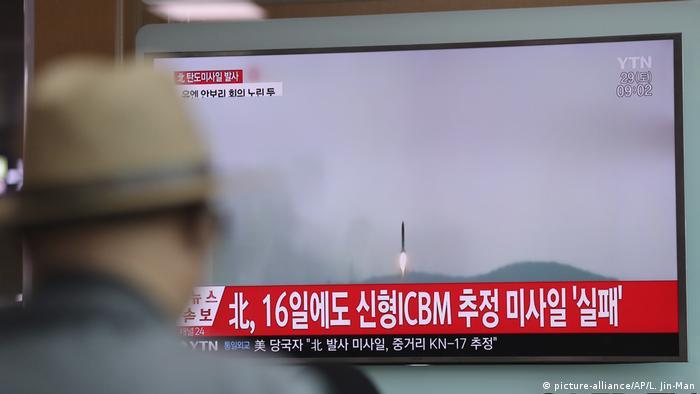 中美步步威胁 朝鲜连连射弹