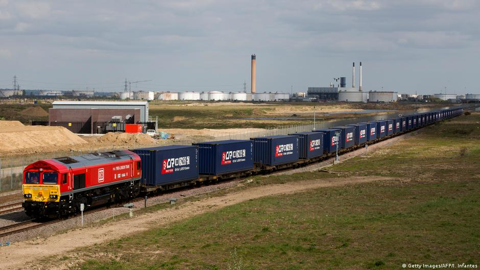 First freight train linking UK with China arrives in Yiwu