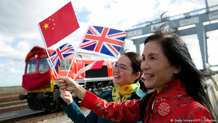 China Seidenstraße London-Jiwu (Getty Images/AFP/I. Infantes)