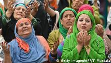 Kaschmir Muslimische Frauen während des Miraj-Ul-Alam-Festes