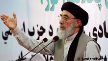 Afghanistan Kriegsherr Gulbuddin Hekmatyar plädiert für den Frieden (Reuters/Parwiz)