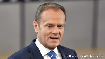 Brüssel EU Gipfel Brexit Verhandlungen Tusk