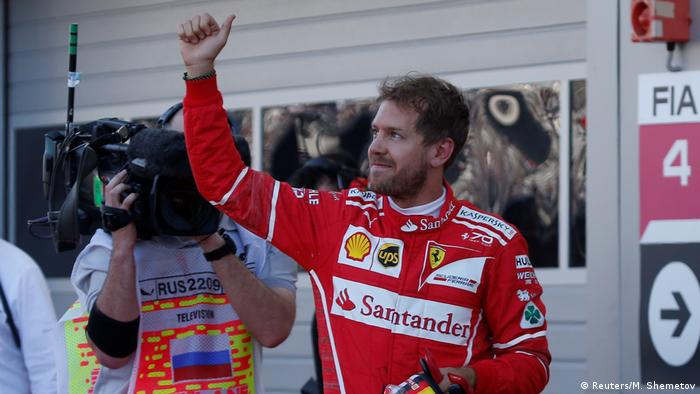 Vettel Holt Pole Position In Sotschi