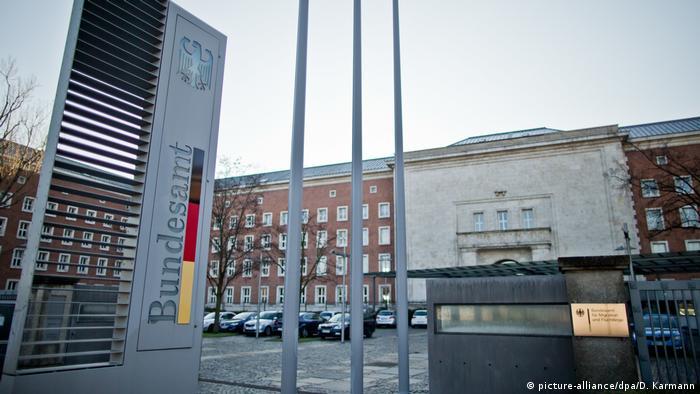 BAMF building in Nuremberg