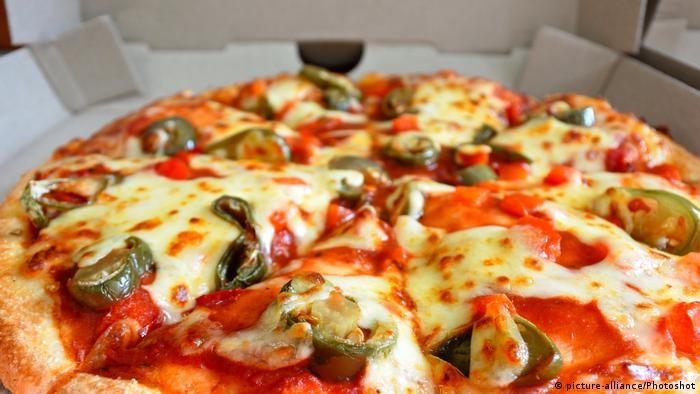 Symbolbild Pizza Lieferservice (picture-alliance/Photoshot)