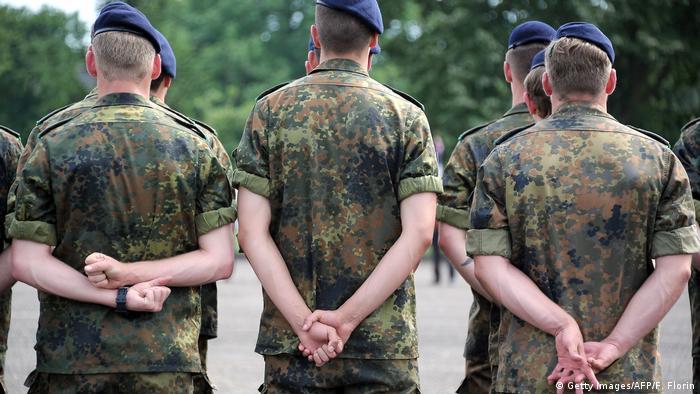 Bundeswehr-Soldaten vom Jägerbataillon 291 in Illkirch-Graffenstaden (Foto: Getty Images/AFP/F. Florin)