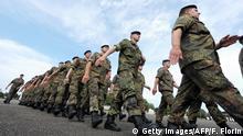 Frankreich Illkirch-Graffenstaden Bundeswehr Soldaten vom Jägerbataillon 291