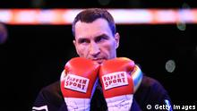 LONDON, ENGLAND - APRIL 29: Wladimir Klitschko looks on in the ring prior to his fight against Anthony Joshua for the IBF, WBA and IBO Heavyweight World Title bout at Wembley Stadium on April 29, 2017 in London, England. (Photo by Richard Heathcote/Getty Images)