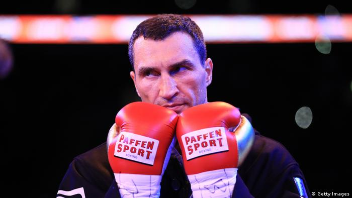 Wembley Boxen Wladimir Klitschko vs Anthony Joshua (Getty Images)