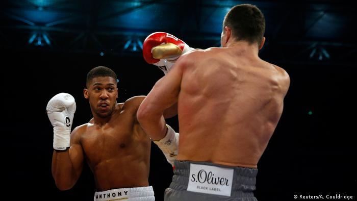 Wembley Boxen Wladimir Klitschko vs Anthony Joshua (Reuters/A. Couldridge )