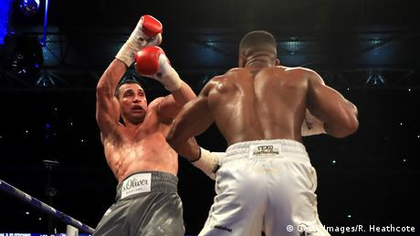 Boxing Joshua vs Wladimir Klitschko (Getty Images/R. Heathcote)