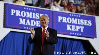USA Harrisburg Trump Rede vor Anhängern
