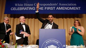 Washington White House Correspondents' Association dinner Minhaj (Reuters/J. Ernst)