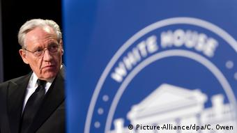 Bob Woodward at a White House dinner