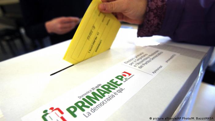 Italien Wahlen Stimmzettel (picture alliance/AP Photo/M. Bazzi/ANSA)