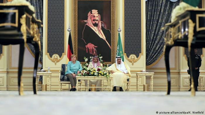 Saudi-Arabien Reise Bundeskanzlerin Merkel in Dschidda