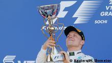 Formel 1 Russland Sotschi Siegerehrung für Bottas
