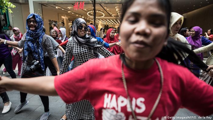 Hong Kong Indonesien Protest gegen Joko Widodo